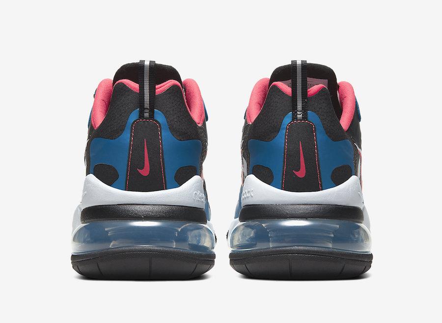 Nike Air Max 270 React Script Swoosh CT1616-400 Release Date Info