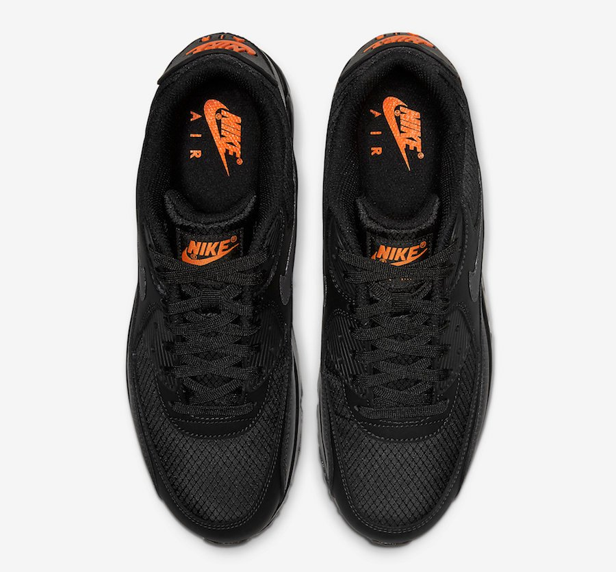 Nike Air Max 90 Black Orange CT2533-001 Release Date Info