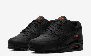 Nike Air Max 90 Black Orange CT2533-001 Release Date Info