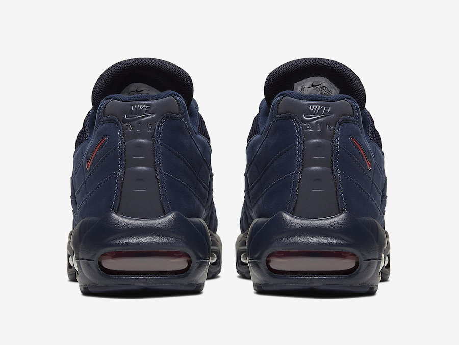 Nike Air Max 95 Navy Red CQ4024-400 Release Date Info