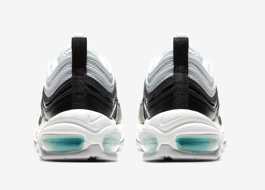 Nike Air Max 97 Pure Platinum Aurora Green Black 921733-065 Release Date Info