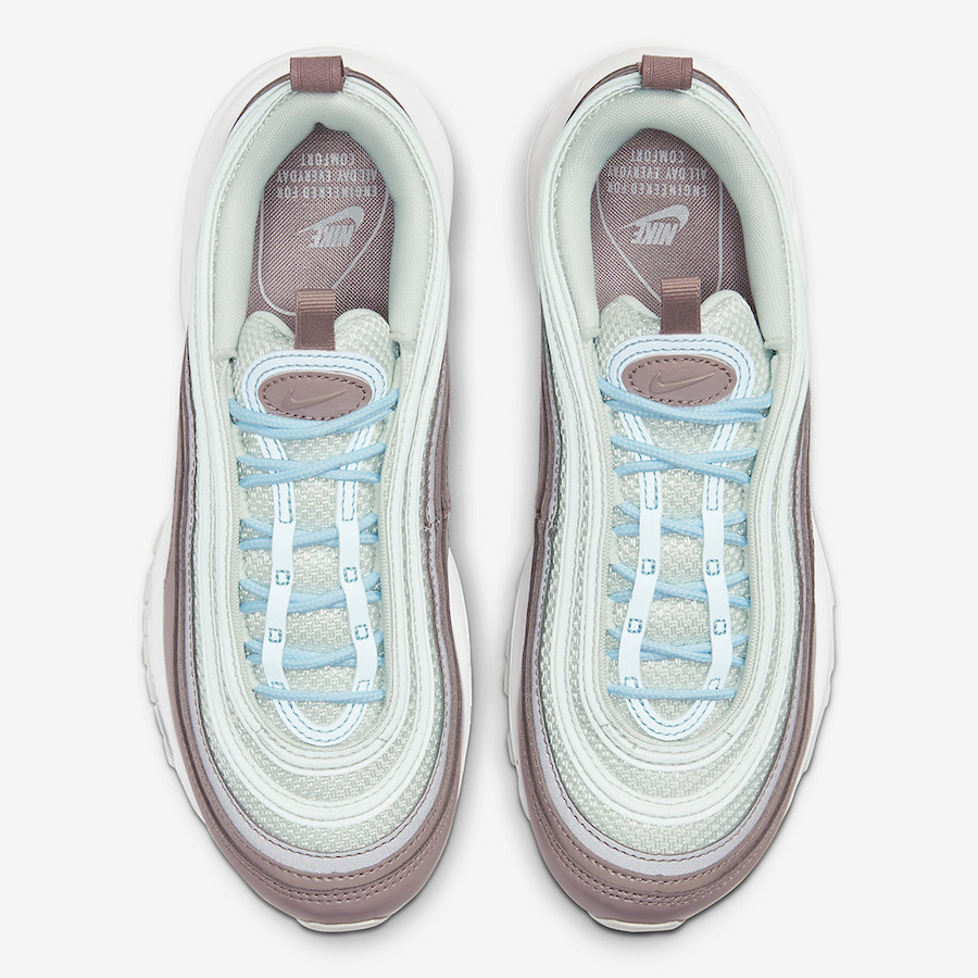 Nike Air Max 97 Spruce Aura Celestine Blue 921733-018 Release Date Info