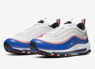 Nike Air Max 97 White Game Royal Pink 921826-107 Release Date Info