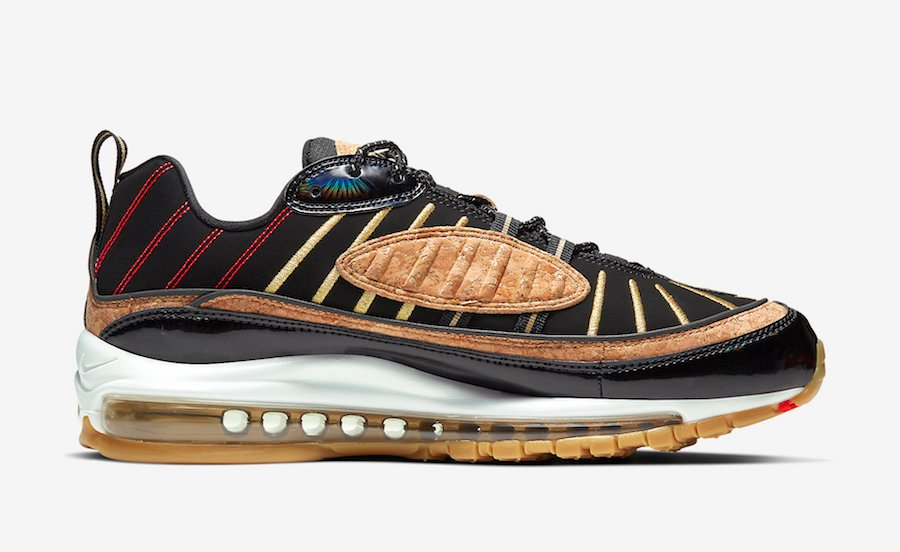 Nike Air Max 98 Cork New Years CT1173-001 Release Date Info