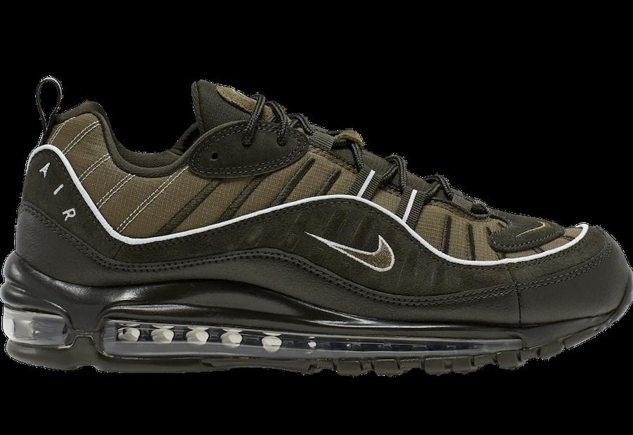 Nike Air Max 98 Sequoia Medium Olive 640744-300 Release Date Info