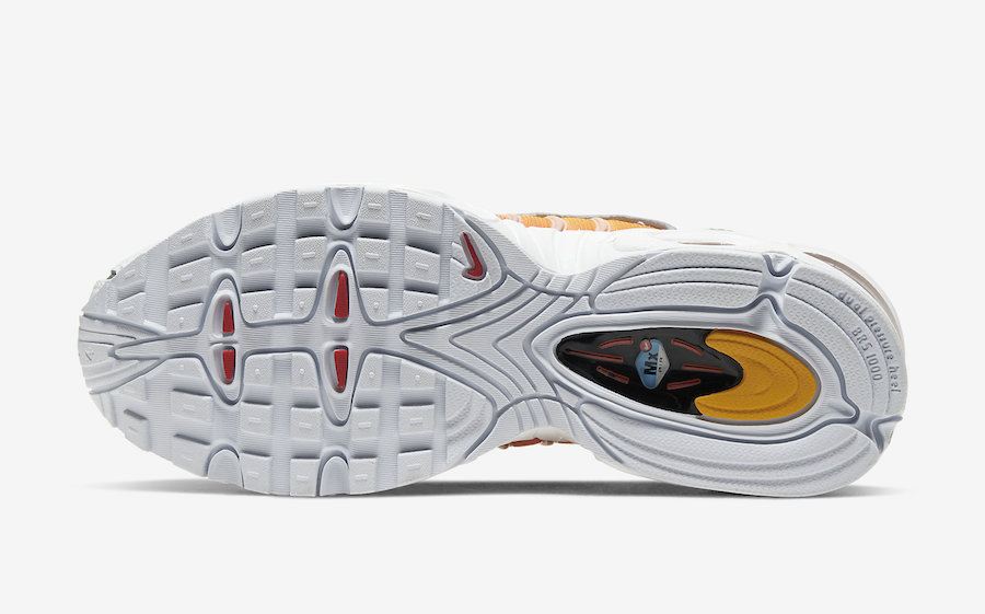 Nike Air Max Tailwind 4 White Black University Gold CK4122-100 Release Date Info