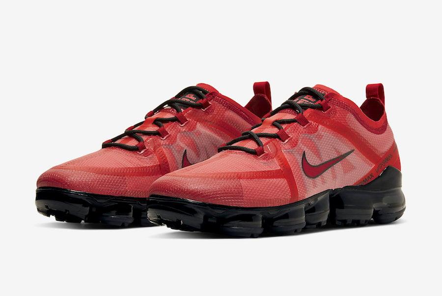 Nike Air VaporMax 2019 Red Crimson AR6631-600 Release Date Info