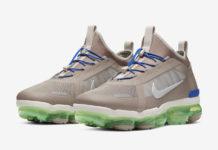 Nike Air VaporMax 2019 Utility Desert Sand Electric Green BV6351-007 Release Date Info