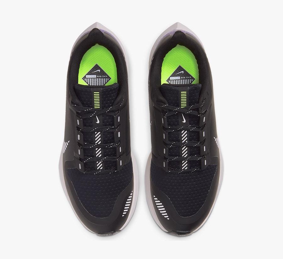 Nike Air Zoom Pegasus 36 Shield Black Silver Sand AQ8006-002 Release Date Info