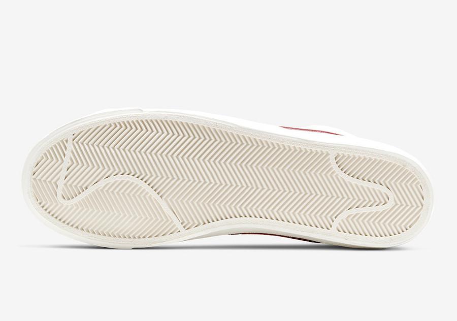 Nike Blazer Mid 77 Brick Red BQ6806-102 Release Date Info