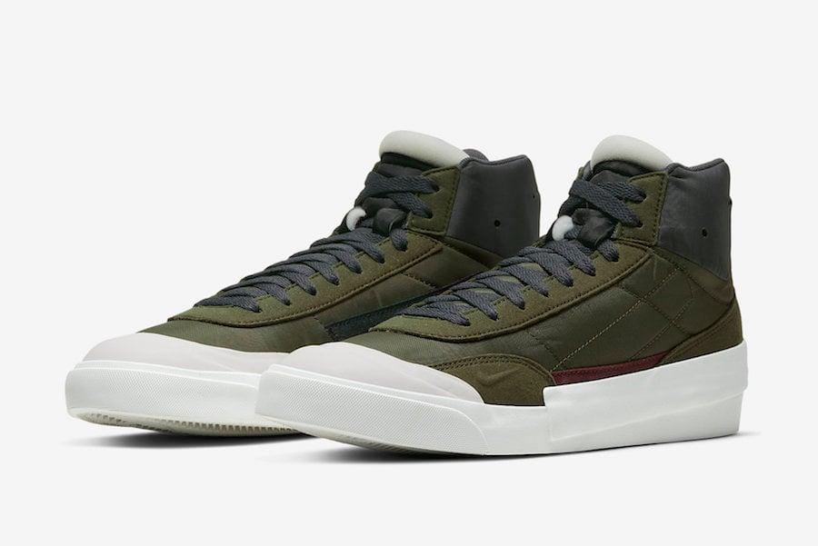 Nike Drop Type Mid Legion Green BQ5190-100 Release Date Info