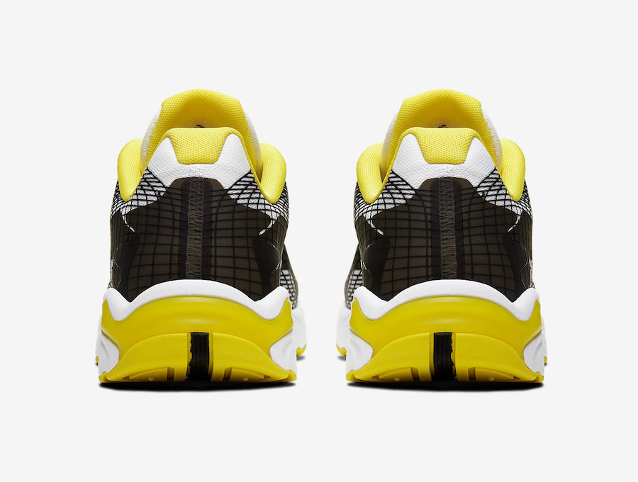 Nike Ghoswift White Black Dynamic Yellow BQ5108-100 Release Date Info