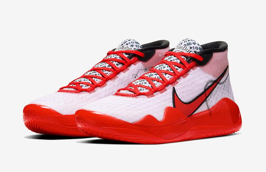 Nike KD 12 YouTube CQ7731-900 Release Date