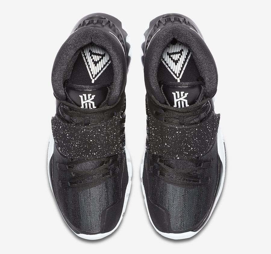 Nike Kyrie 6 Black White BQ4630-001 Release Date Info