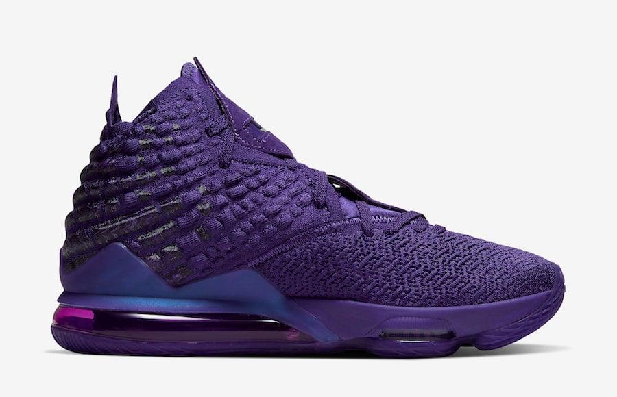 Nike LeBron 17 Bron 2K BQ3177-500 Release Date