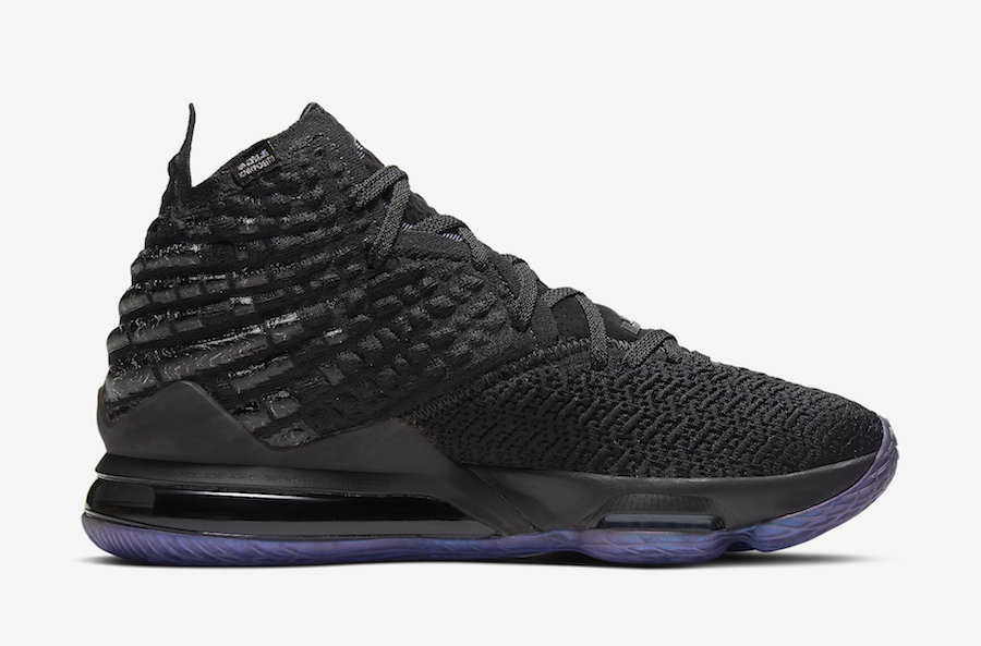 Nike LeBron 17 Currency BQ3177-001 Release Date