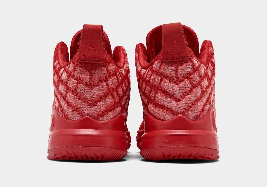 Nike LeBron 17 GS University Red BQ3177-600 Release Date Info