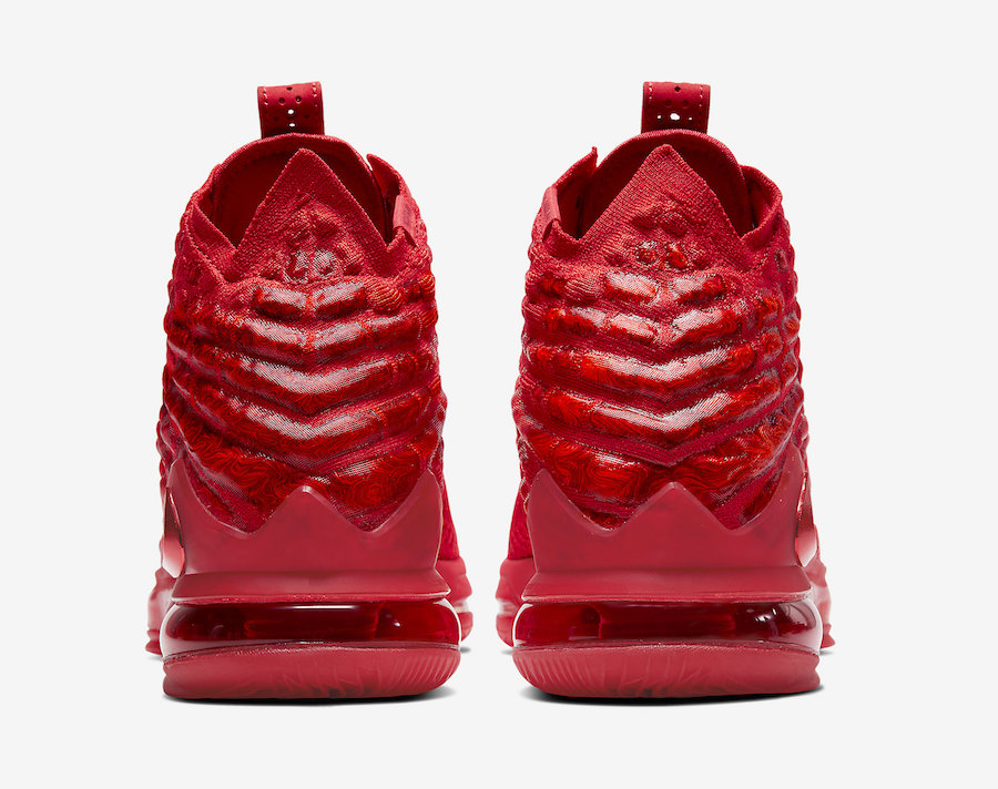 Nike LeBron 17 Red Carpet BQ3177-600 Release Date Info