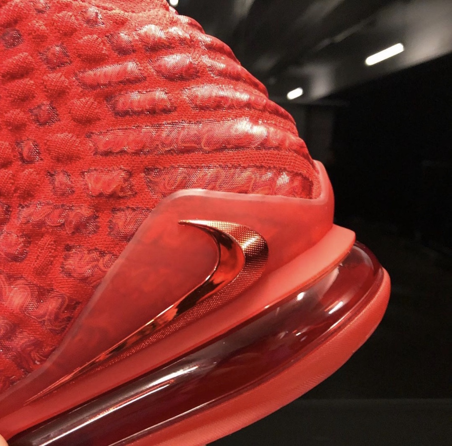 Nike LeBron 17 University Red BQ3177-600 Release