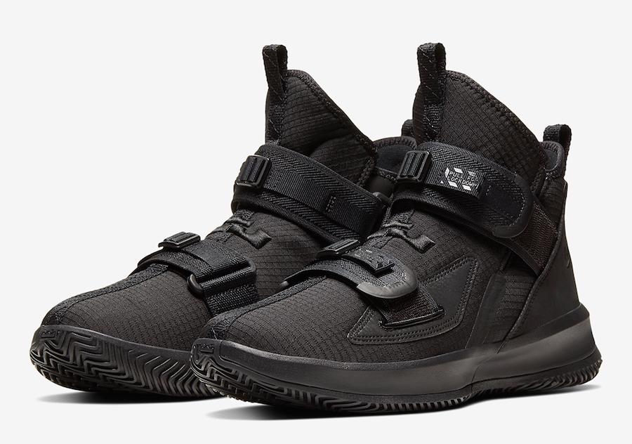 Nike LeBron Soldier 13 Black AR4225-005 Release Date Info