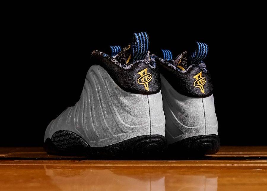 Nike Little Posite One Graffiti Wolf Grey University Gold Black 644791-009 Release Date Info