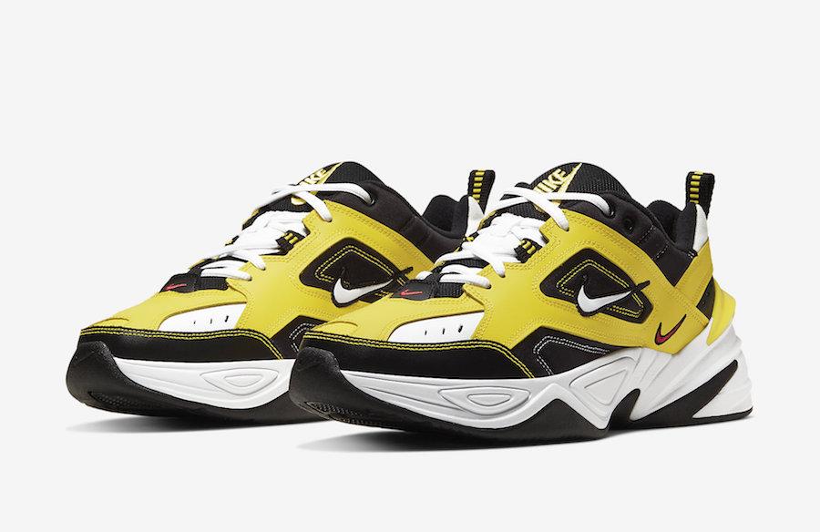 lado gas Similar  Nike M2K Tekno Yellow Black White AV4789-700 Release Date Info |  SneakerFiles