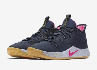 Nike PG 3 Obsidian Pink Blast AO2607-401 Release Date Info