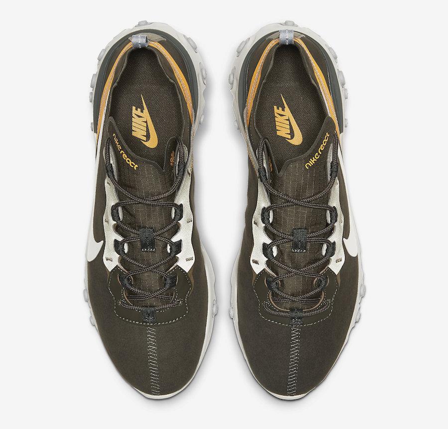 Nike React Element 55 Sequoia CQ6366-300 Release Date Info