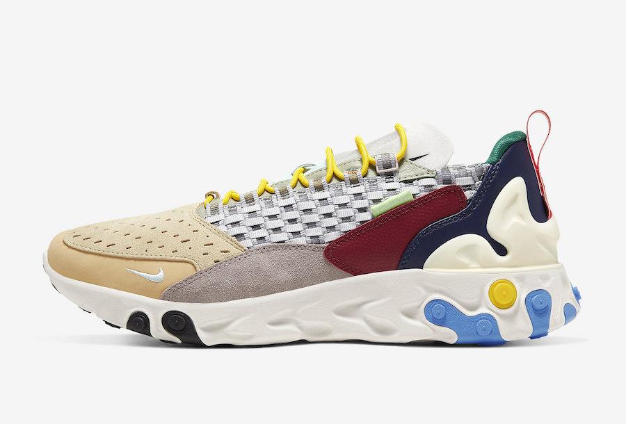 Nike React Sertu Multi-Color AT5301-001 Release Date Info