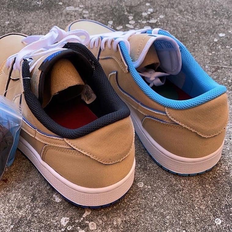 Nike SB Air Jordan 1 Low Desert Ore Lance Mountain CJ7891-200 Release Date