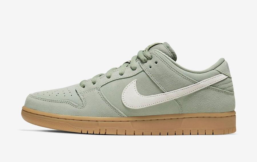 Nike SB Dunk Low Horizon Green BQ6817-300 Release Date Info