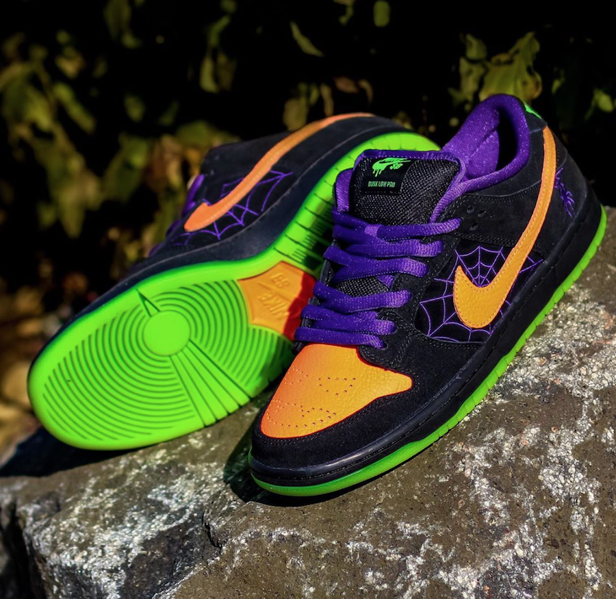 Nike SB Dunk Low Night of Mischief BQ6817-006 Release Date