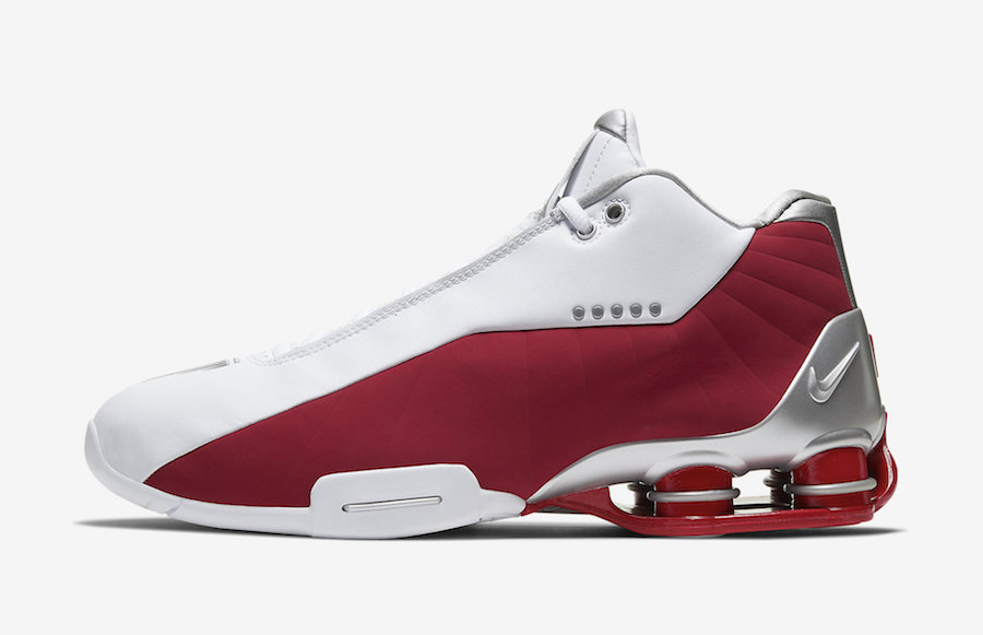 Nike Shox BB4 Varsity Red AT7843-101 Release Date Info