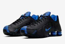 Nike Shox R4 Black Game Royal Blue 104265-053 Release Date Info