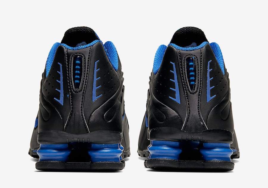 Nike Shox R4 Black Game Royal Blue 104265-053 Release Date Info