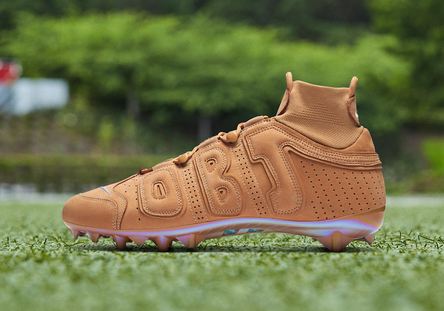 Nike Vapor Untouchable Pro 3 OBJ Uptempo Wheat Cleats