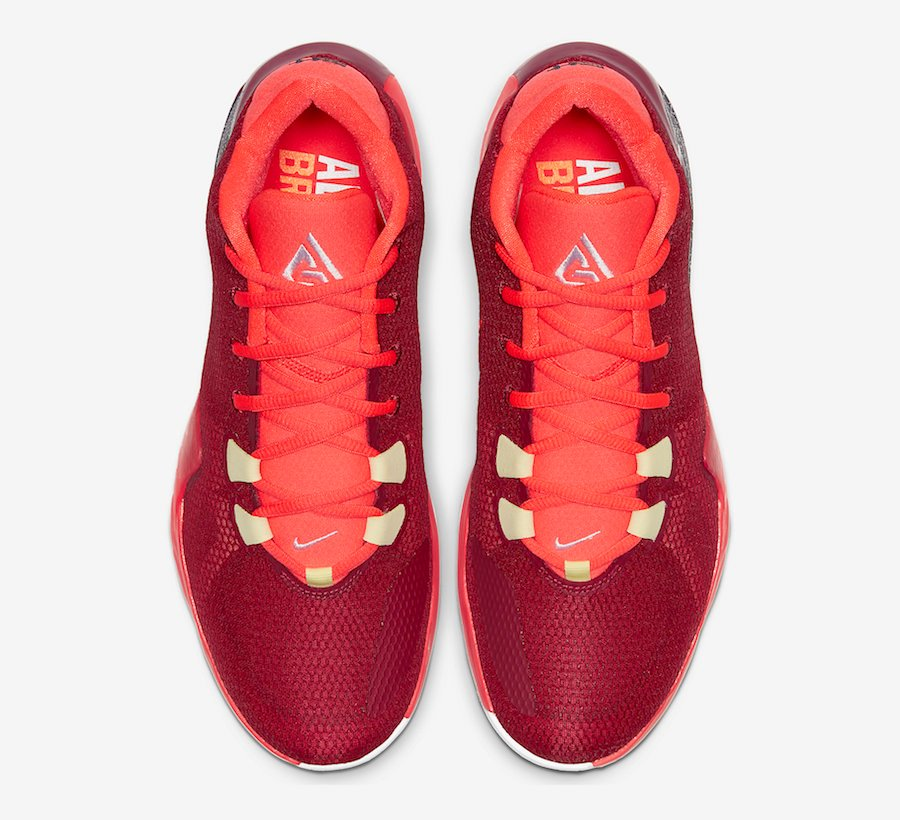 Nike Zoom Freak 1 All Bros Noble Red Opening Night BQ5422-600 Release Date Info