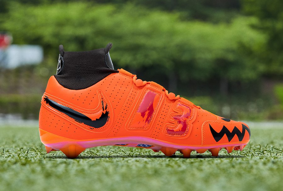 OBJ Odell Beckham Jr Week 8 Halloween Nike Cleats