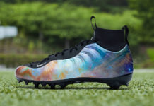 Odell Beckham Jr Nike Air Foamposite One Alternate Galaxy Cleats