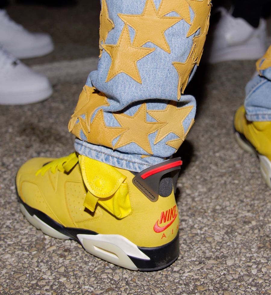 Offset Yellow Travis Scott Air Jordan 6