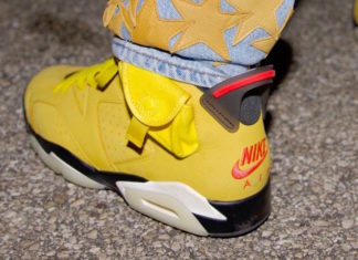 Offset Yellow Travis Scott Air Jordan 6