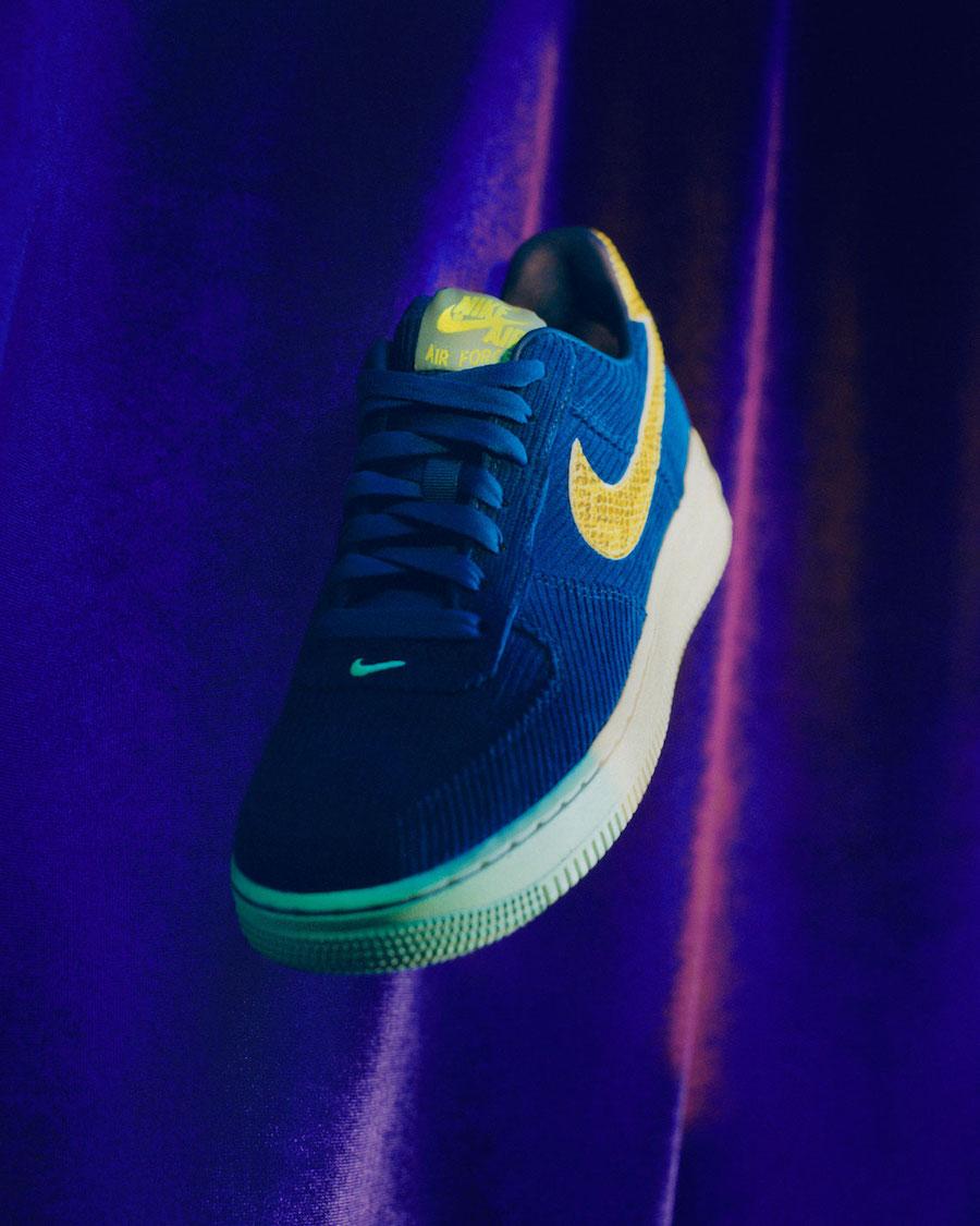 Olivia Kim Nike Air Force 1 Corduroy
