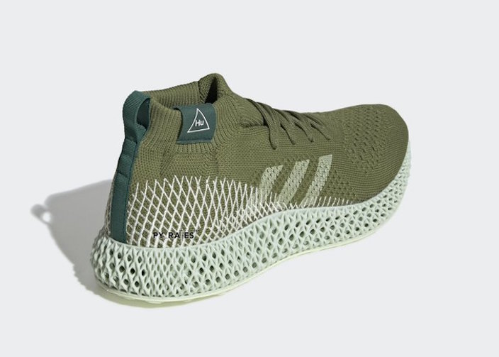 Pharrell adidas 4D Olive Green Release Date Info