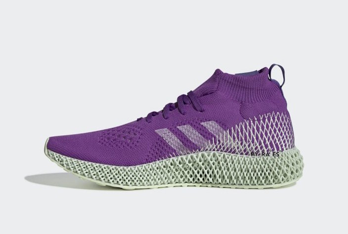 Pharrell adidas 4D Purple Release Date Info