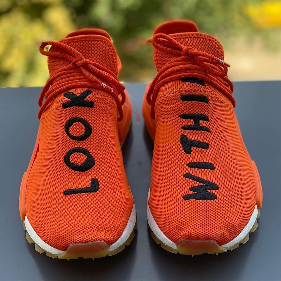 Pharrell adidas NMD Hu Look Within Release Date Info