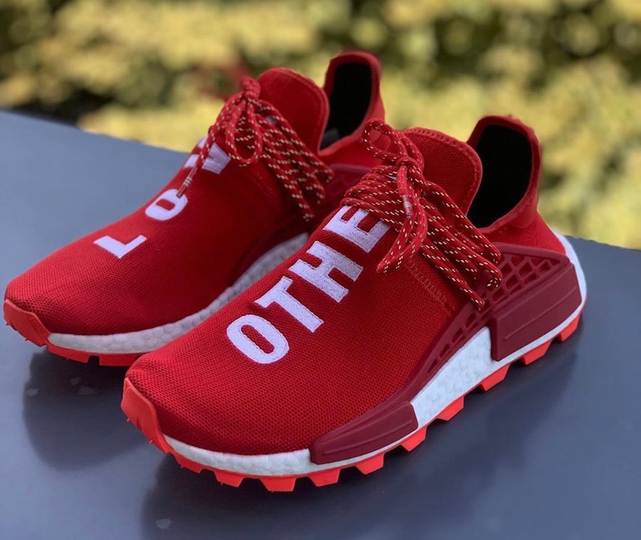 Pharrell adidas NMD Hu Love Other Release Date Info