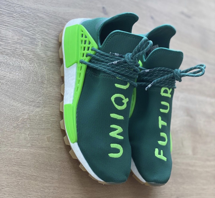 Pharrell adidas NMD Hu Unique Future EF2334 Release Date Info
