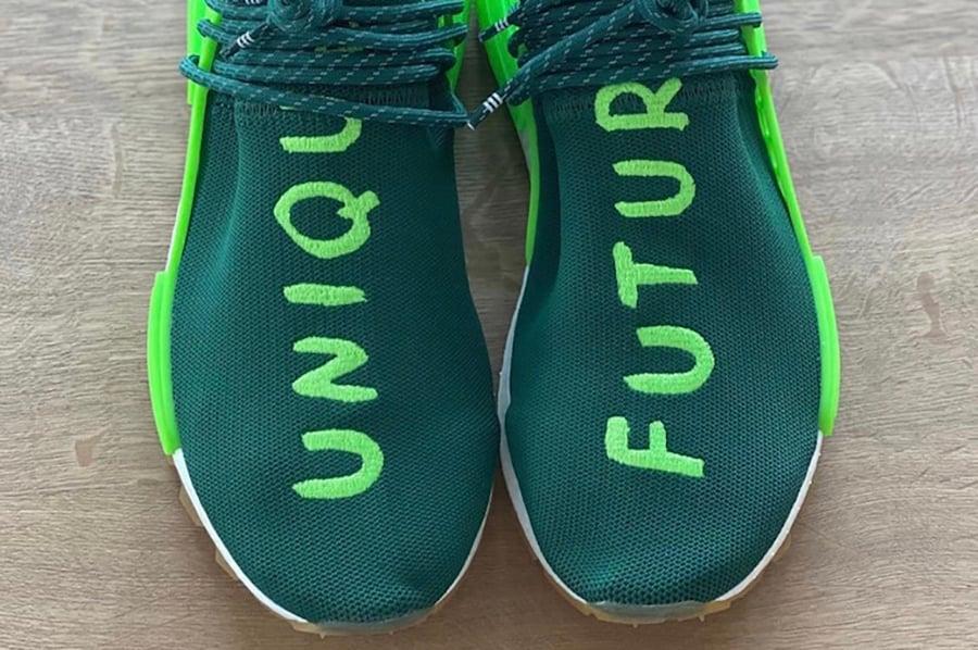 Pharrell adidas NMD Hu Unique Future EF2334