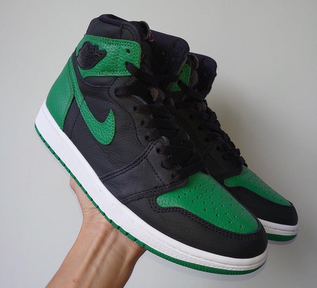 Pine Green Air Jordan 1 555088-030