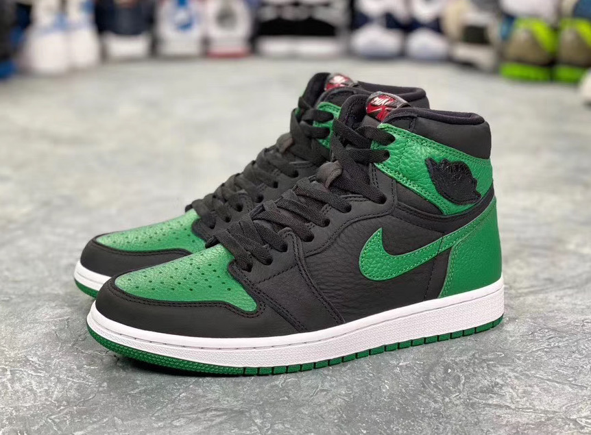 Air Jordan 1 Pine Green Gym Red 555088